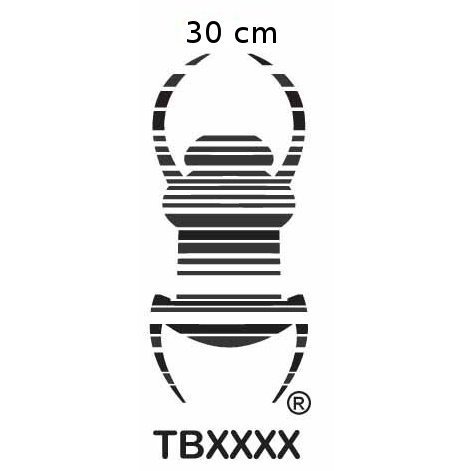 Travel bug tarra XXXXL