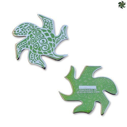 Tessellation Turtle (Green) -geokolikko