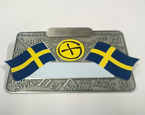 Nordic Name Tag - Sweden
