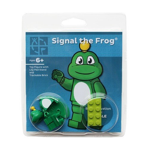 Signal the Frog® with Trackable Brick