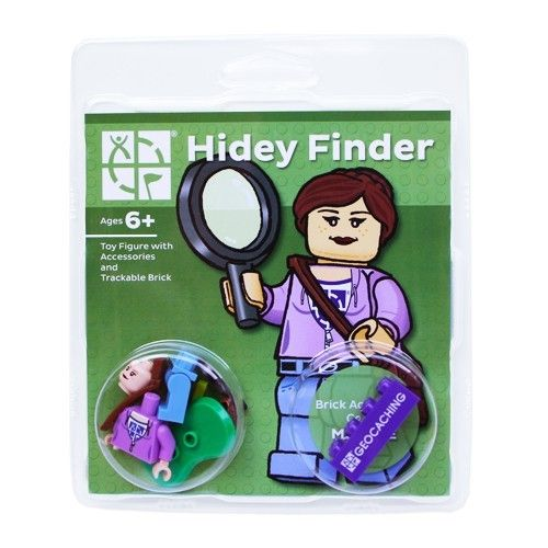 Hidey Finder with Trackable Brick