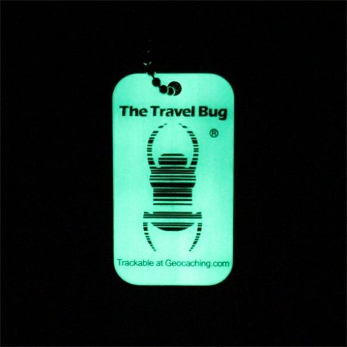 QR Travel Bug® - Glow in the Dark (5 pack)