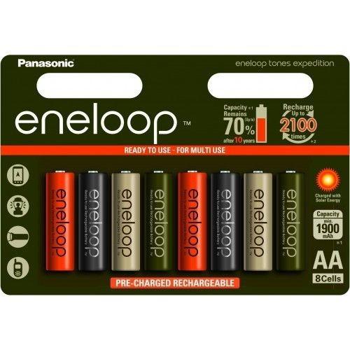 Panasonic Eneloop Expedition Limited Edition (8 pack)