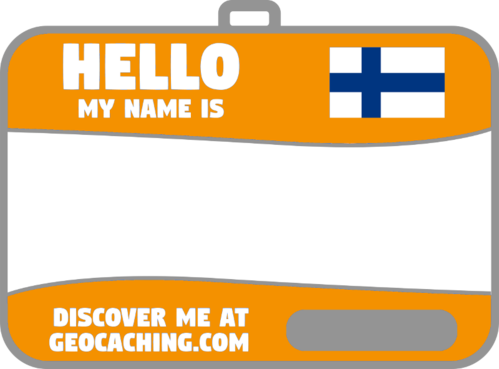 Flag name tag ver 2 (Orange)