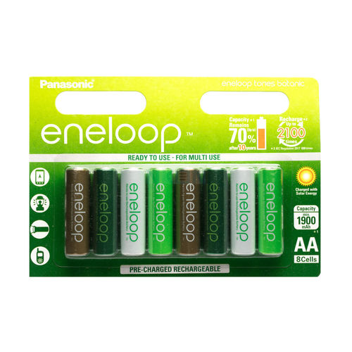 Panasonic Eneloop Botanic Limited Edition (8 pack)